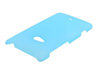 Nokia Lumia 625 Ultra Slim Frosted Case plus Screen Protector - Frosted Blue
