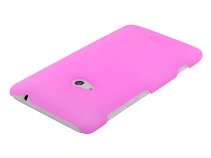 Nokia Lumia 625 Ultra Slim Frosted Case plus Screen Protector - Frosted Pink
