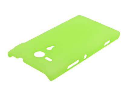 Sony Xperia SP M35 Ultra Slim Frosted Case plus Screen Protector - Frosted Green