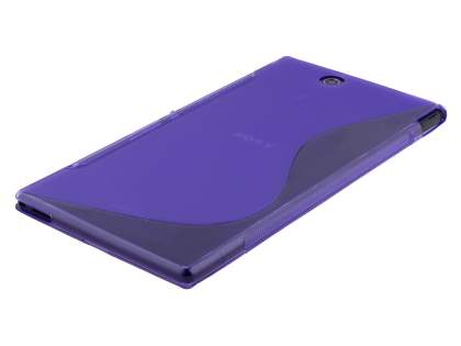 Wave Case for Sony Xperia Z Ultra - Frosted Purple/Purple