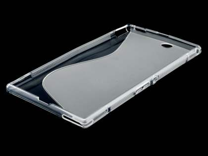 Sony Xperia Z Ultra Wave Case - Frosted Clear/Clear