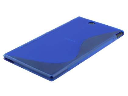 Sony Xperia Z Ultra Wave Case - Frosted Blue/Blue