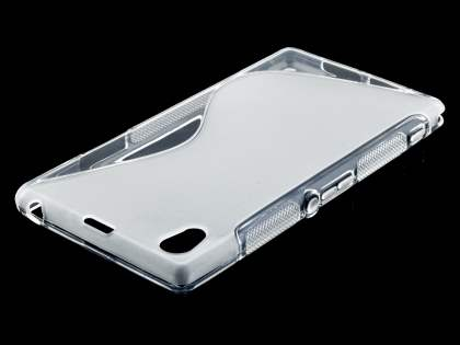 Sony Xperia Z1 Wave Case - Frosted Clear/Clear