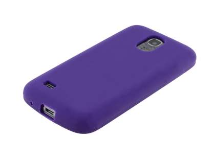 Samsung I9195T Galaxy S4 mini Silicone Case - Purple