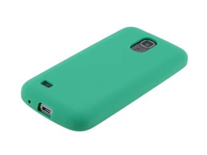 Silicone Case for Samsung I9195T Galaxy S4 mini - Green