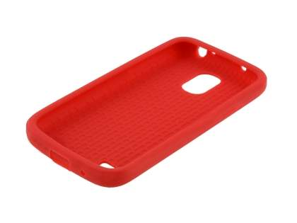Samsung I9195T Galaxy S4 mini Silicone Case - Red