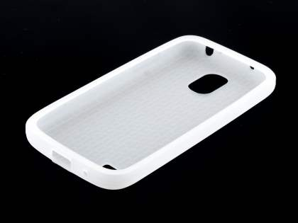 Silicone Case for Samsung I9195T Galaxy S4 mini - Frosted Clear