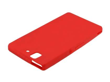 Sony Xperia Z Silicone Case - Red