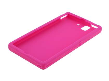 Silicone Case for Sony Xperia Z - Pink