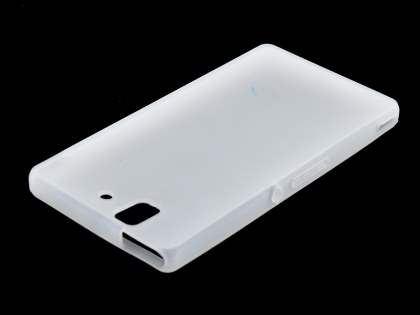 Sony Xperia Z Silicone Case - Frosted Clear
