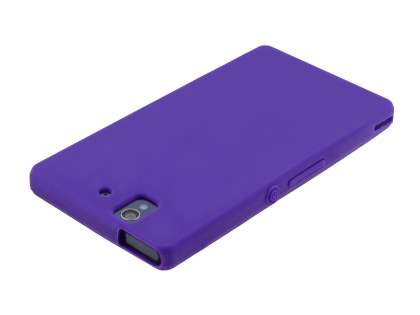 Sony Xperia Z Silicone Case - Purple