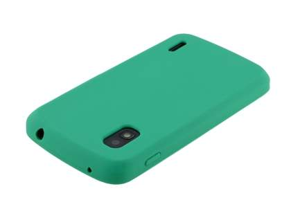Silicone Case for LG Nexus 4 E960 - Green