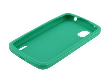 LG Nexus 4 E960 Silicone Case - Green