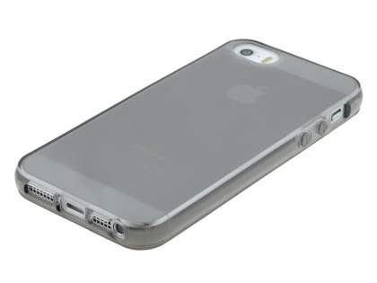 Apple iPhone SE/5s/5 Frosted TPU Gel Case - Frosted Grey