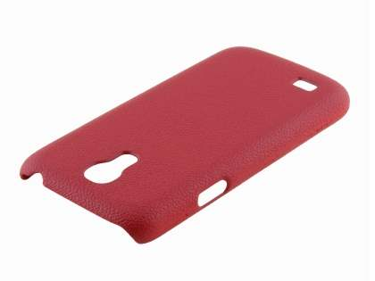 Samsung Galaxy S4 mini Ultra Slim Case plus Screen Protector - Red