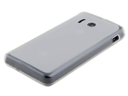 Huawei Ascend Y300 Frosted TPU Case - Frosted Clear
