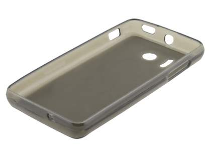Huawei Ascend Y300 Frosted TPU Case - Frosted Grey