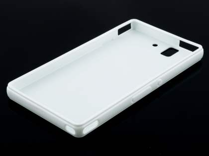 Colour TPU Gel Case for Sony Xperia Z - Pearl White