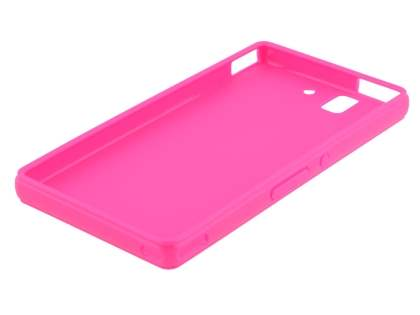 Colour TPU Gel Case for Sony Xperia Z - Pink
