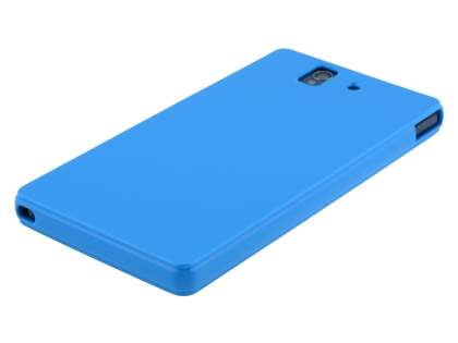 Colour TPU Gel Case for Sony Xperia Z - Blue