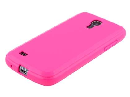 Samsung I9195 Galaxy S4 mini Colour TPU Gel Case - Pink