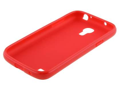 Samsung I9195 Galaxy S4 mini Colour TPU Gel Case - Red