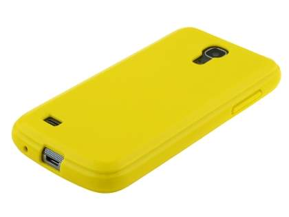 Samsung I9195 Galaxy S4 mini Colour TPU Gel Case - Canary Yellow