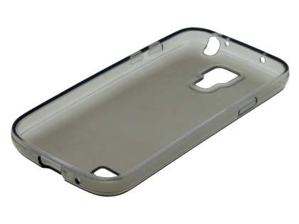 Samsung I9195 Galaxy S4 mini Frosted TPU Case - Frosted Grey