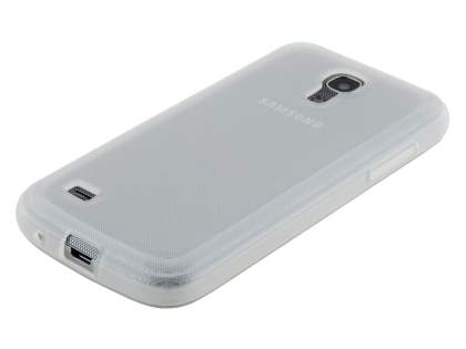 Samsung I9195 Galaxy S4 mini Frosted TPU Case - Frosted Clear
