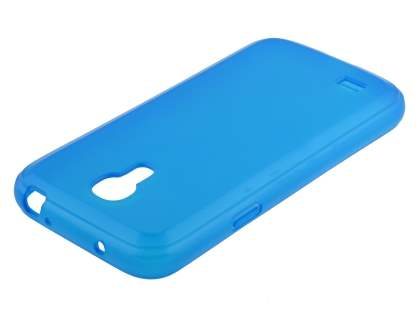 Samsung I9195 Galaxy S4 mini Frosted TPU Case - Frosted Blue