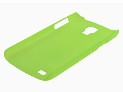 Samsung Galaxy S4 Active I9295 Ultra Slim Frosted Case plus Screen Protector - Frosted Green