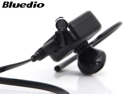 Bluedio DF33T Touch Control Bluetooth Stereo Headset for Samsung - Gun Metal Black
