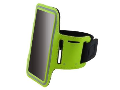 Universal Sports Arm Band for Samsung Galaxy Note 3 - Lime Green Sports Arm Band