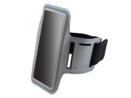 Universal Sports Arm Band for Samsung Galaxy Note 3 - Grey Sports Arm Band