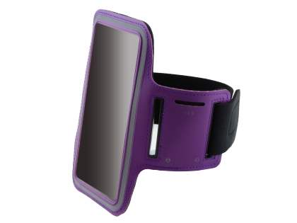 Universal Sports Arm Band for Samsung Galaxy Note 3 - Purple Sports Arm Band
