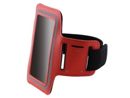 Universal Sports Arm Band for Samsung Galaxy Note 3 - Red