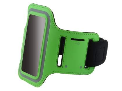 Universal Sports Armband for Phones - Green Sports Arm Band