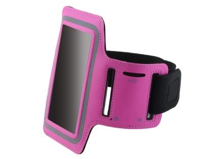 Universal Sports Arm Band for Samsung I9100 Galaxy S2 - Hot Pink