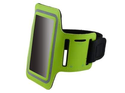 Universal Sports Armband for Phones - Lime Green Sports Arm Band