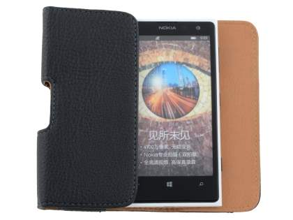Textured Synthetic Leather Belt Pouch for Nokia Lumia 1020