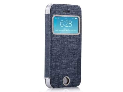Momax Flip View Case for iPhone 5c - Grey