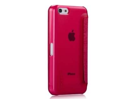 Momax Flip View Case for iPhone 5c - Coral