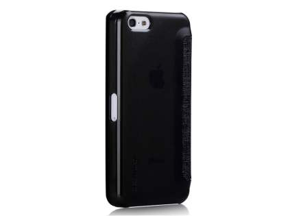 Momax Flip View Case for iPhone 5c - Night Black