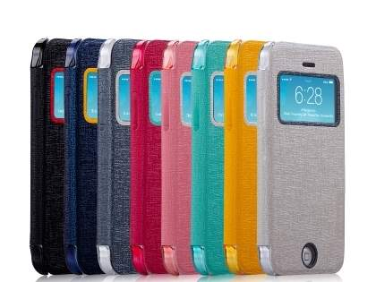 Momax Flip View Case for iPhone 5c - Night Blue