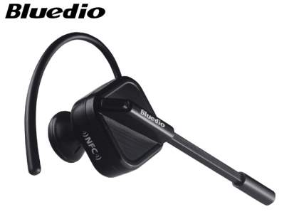 Bluedio DF33T Touch Control Bluetooth Stereo Headset for Nokia - Gun Metal Black Bluetooth Headset