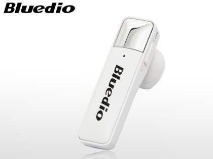 Bluedio 66i Bluetooth Stereo Headset for Apple - Pearl White Bluetooth Headset