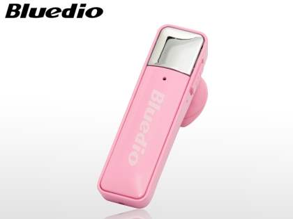 Bluedio 66i Bluetooth Stereo Headset for HTC - Baby Pink Bluetooth Headset
