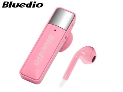 Bluedio 66i Bluetooth Stereo Headset for HTC - Baby Pink