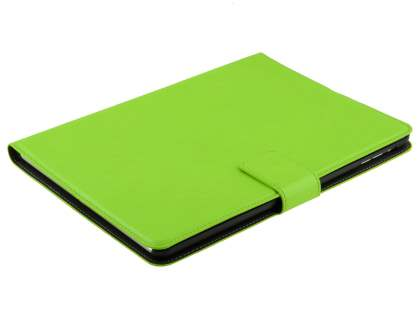 iPad Air 1st Gen Slim Synthetic Leather Wallet Smart Case with Stand - Green