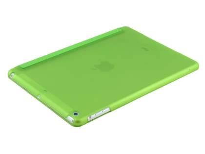 Premium Slim Synthetic Leather Smart Flip Case with Stand for iPad Air 1st Gen - Green